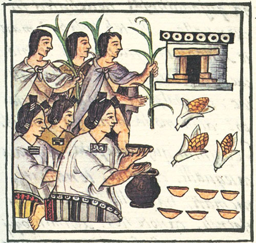 Mexica women kept the empire on the road!